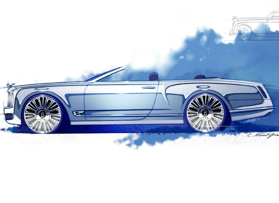 Bentley pretende crear el descapotable más elegante del mercado.