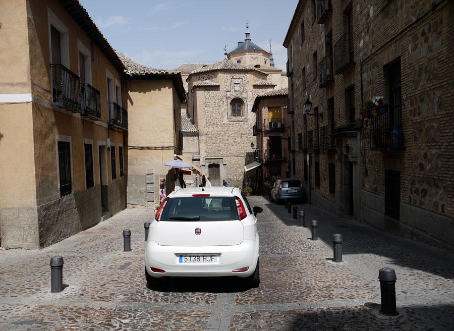 Fiat Punto Evo GLP, Toledo, Rubén Fidalgo