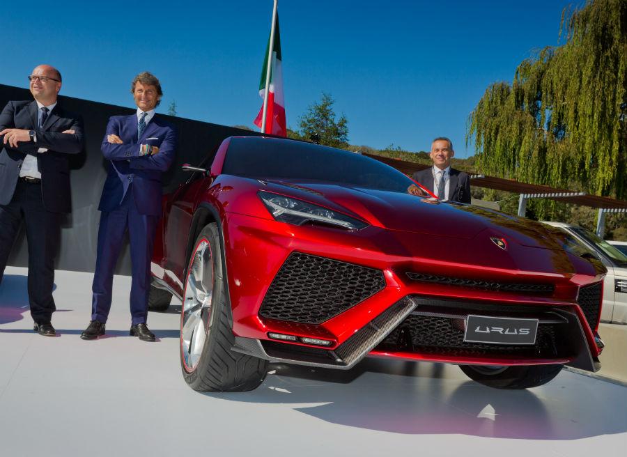 El Lamborghini Urus no llegará a los concesionarios como muy pronto hasta 2017.