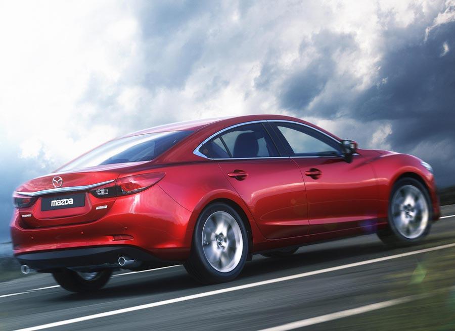 El Mazda6 es uno de los coches más grandes de su segmento.