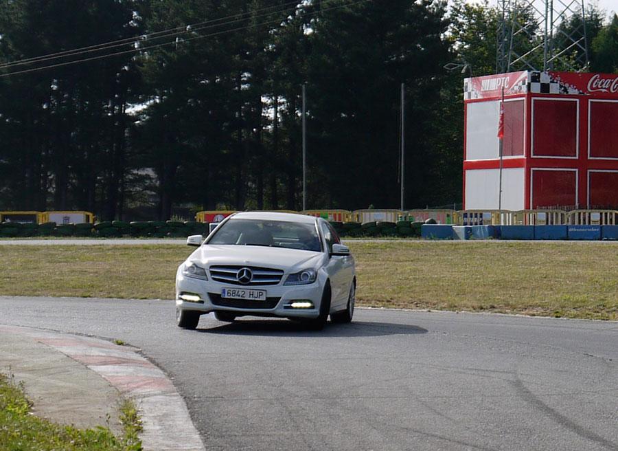 Mercedes C Coupé 220 CDi, A Pastoriza, Rubén Fidalgo