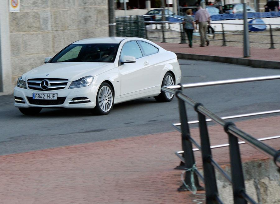 Mercedes C Coupé 220 CDi, Teis, Rubén Fidalgo