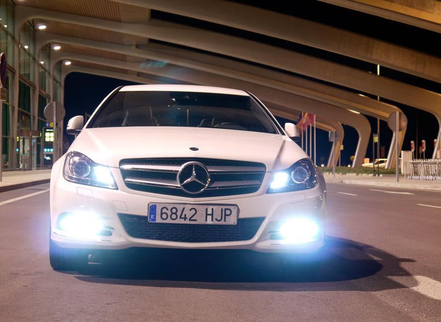 Mercedes C Coupé 220 CDi, La Virgen del Camino, Rubén Fidalgo