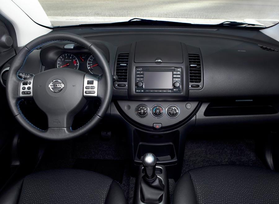 Interior del nuevo Nissan Note.