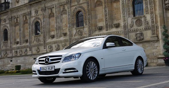Prueba completa del Mercedes C Coupé 220 CDi