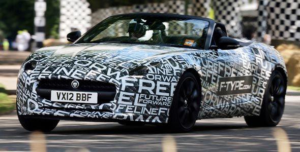 Jaguar F-Type: debuta en el Salón de París
