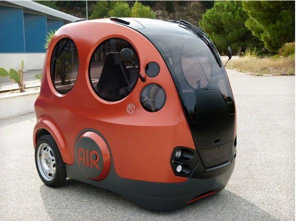 Tata y MDi ultiman el coche de aire comprimido AirPod