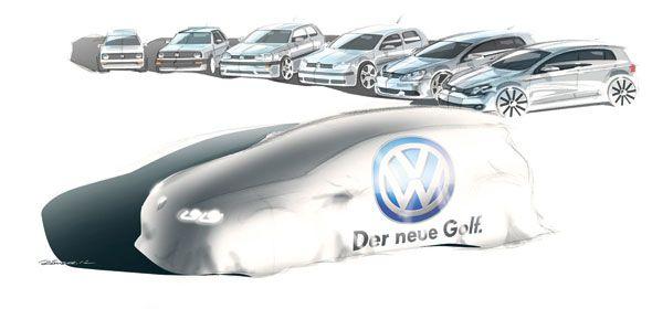 El nuevo VW Golf se ahorrará 100 kg de peso