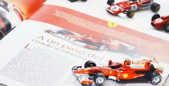 Colecciona los coches de Ferrari en la Fórmula 1 con Altaya