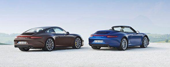 Nuevos Porsche Carrera 4 y Carrera 4S: prestaciones y precios