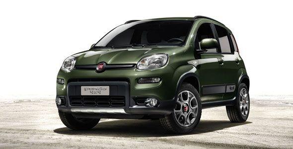 Fiat Panda 4×4: debut en el Salón de París