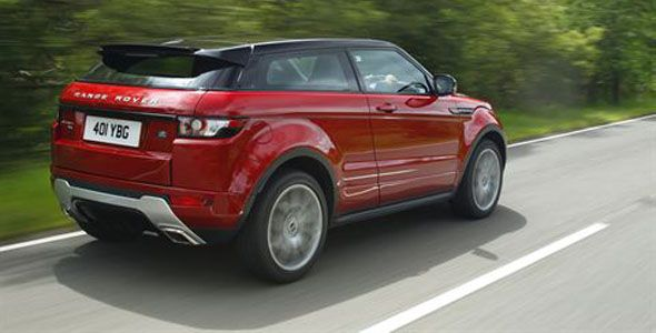 Ligeros cambios Range Rover Evoque 2013
