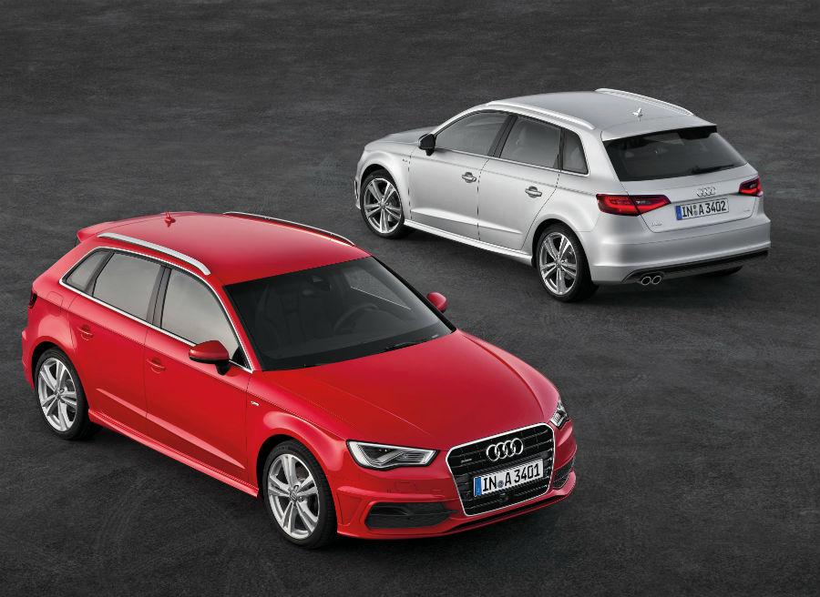El nuevo Audi A3 Sportback tiene una batalla más larga que la versión de 3 puertas.