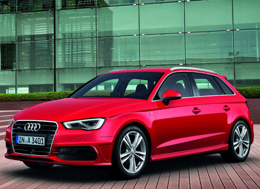 El nuevo Audi A3 Sportback cuenta con un equipamiento de serie muy completo.