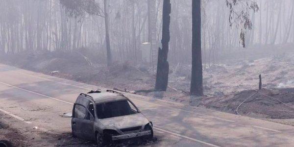 Qué hacer si tu coche se quema en un incendio forestal