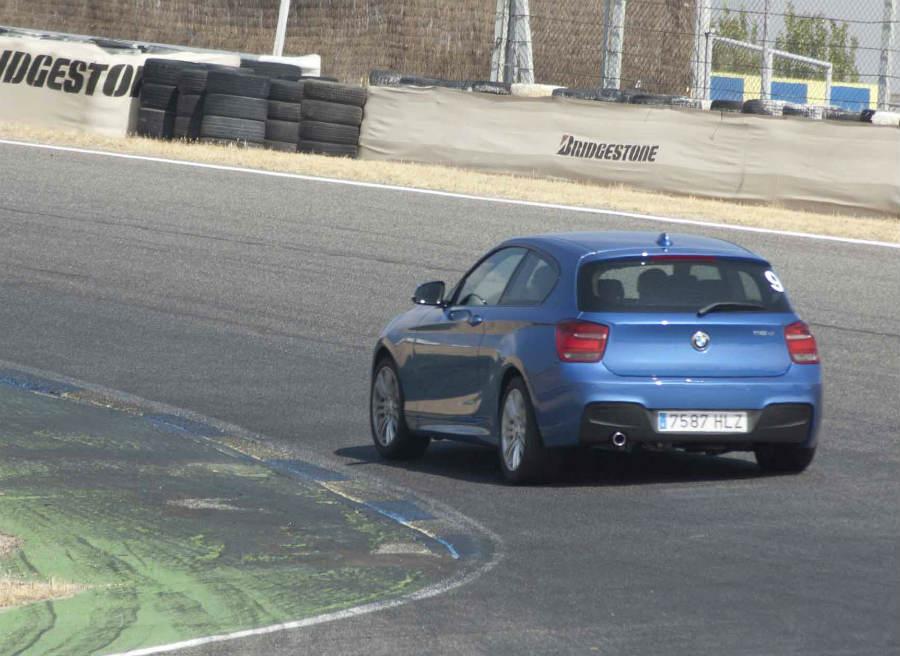 El nuevo BMW Serie 1 3 puertas en acción.