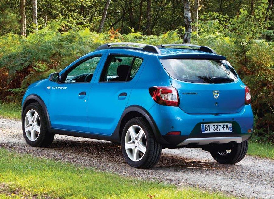 El nuevo Dacia Sandero Stepway contará con dos opciones mecánicas.