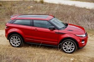 RAnge Rover Evoque cenital
