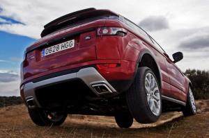 Range Rover Evoque en campo 3