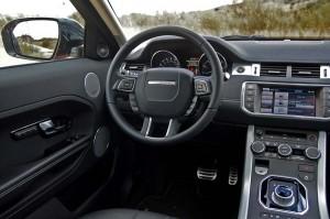 Range Rover Evoque puesto de conduccion