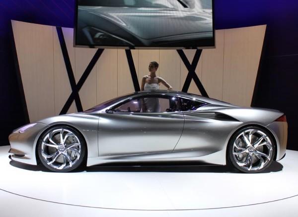 El Emerg-e es el deportivo híbrido de Infiniti.
