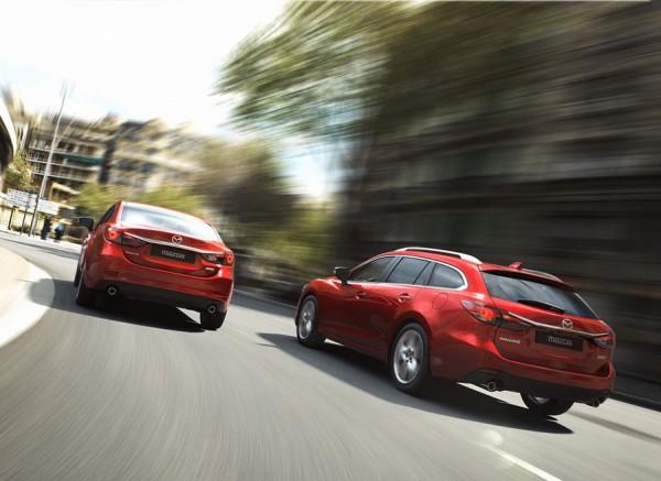 El Mazda6 Wagon se presenta tras conocer el aspecto de la berlina.