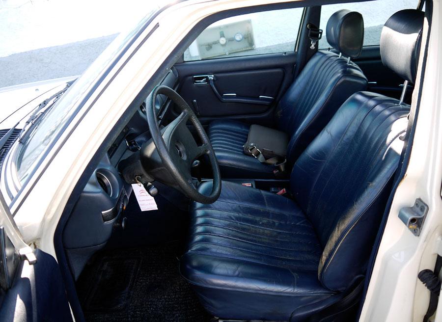 Obsolescencia programada en el automóvil Mercedes W123, Punta Canide, Rubén Fidalgo