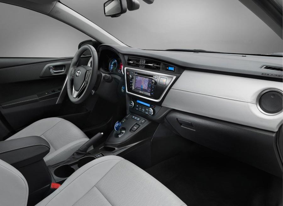 Interior del nuevo Toyota Auris.