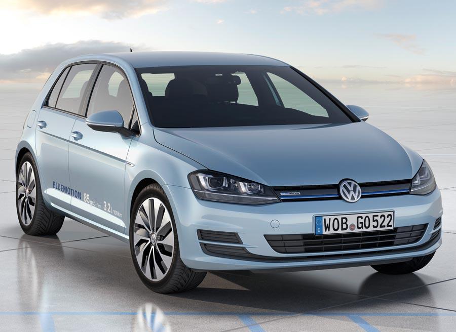 El Volkswagen Golf Bluemotion llegará a los concesionarios en 2013.