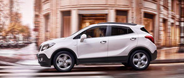 El Opel Mokka contará con una versión con emisiones por debajo de 120 gramos de CO2 por kilómetro