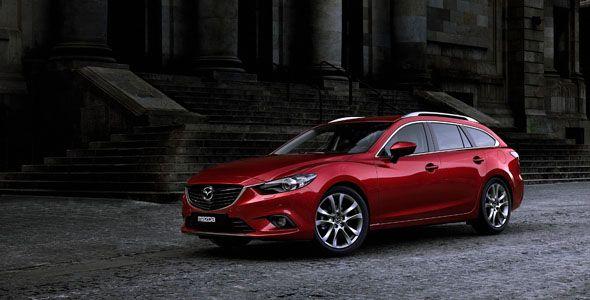 Primeras imágenes del Mazda6 Wagon