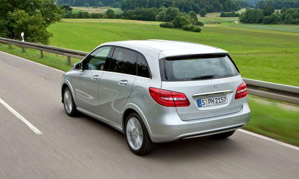 Nuevo Mercedes Clase B Natural Gas Drive