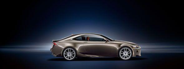 Lexus LF-CC: un nuevo coupé en París