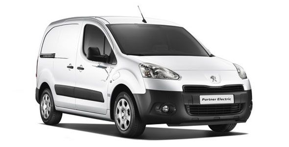 Peugeot Partner eléctrica: en el mercado en abril