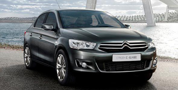 Citroën C-Elysee: primera imagen interior
