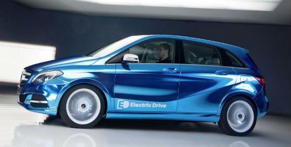 Mercedes Clase B Electric Drive: se presenta en París