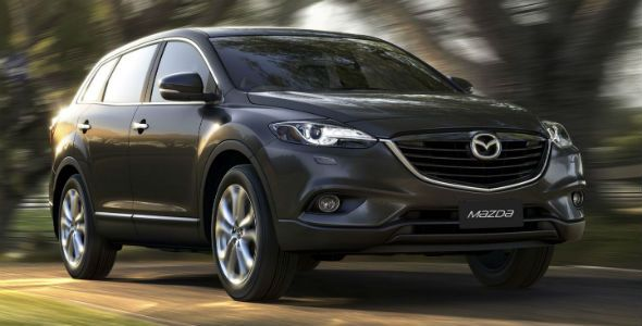 Mazda CX-9: primicia mundial en Australia