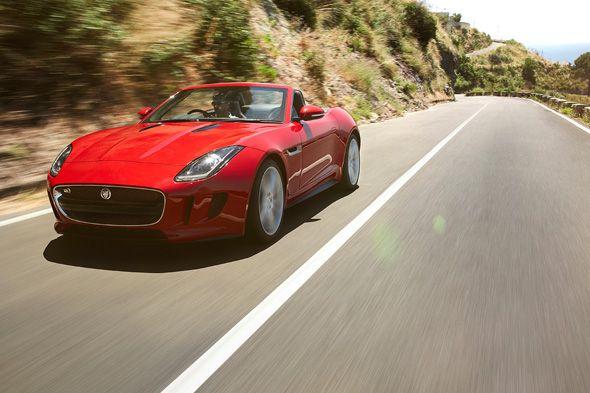 El nuevo Jaguar F-Type en el Salón del Automóvil de París
