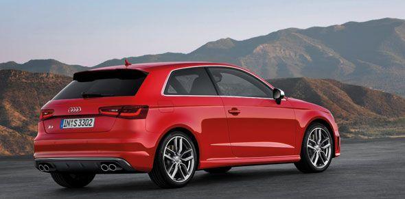 El nuevo Audi S3 llegará en primavera de 2013 con 300 CV