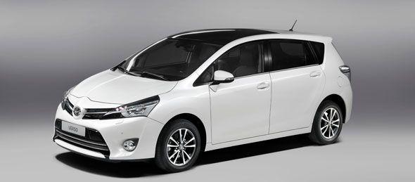 En París debutará el renovado Toyota Verso