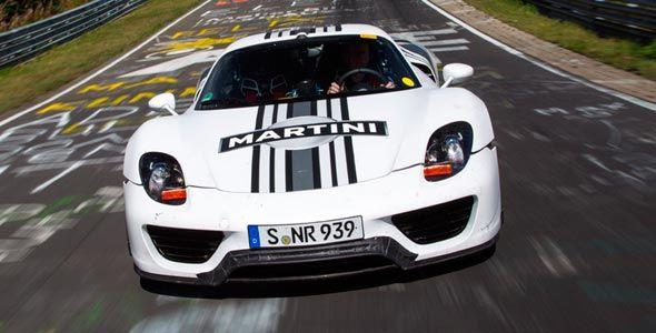 Porsche 918 Spyder: 7 minutos 14 segundos en Nürburgring