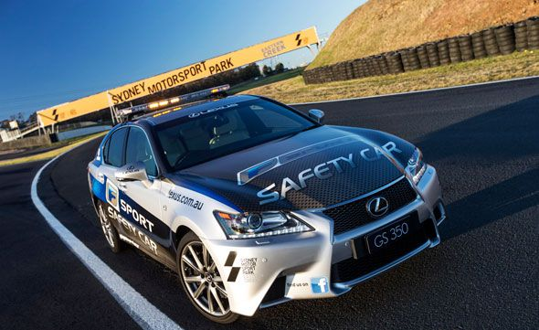 El Lexus GS F SPORT será Safety Car en Sydney Motorsport Park