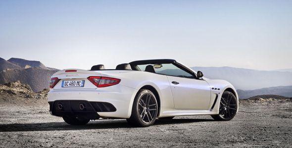 Maserati GranCabrio MC: lujo y deportividad se citan en París