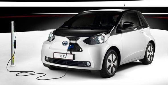 Toyota iQ EV: un eléctrico en París