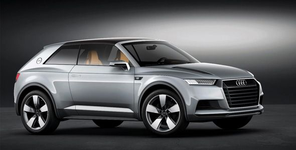 Audi Crosslane Coupé: el nuevo Q2
