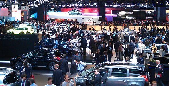 Las fotos del Salón del Automóvil de París