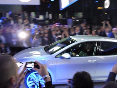 Vídeo de la presentación del VW Golf VII