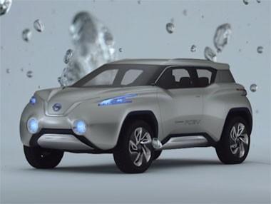 Vídeo del Nissan TeRRA, el Concept de hidrógeno en París 2012