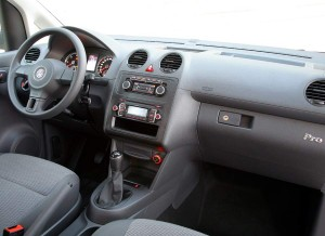 Volkswagen Caddy Pro, interior