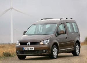Volkswagen Caddy Pro, frontal